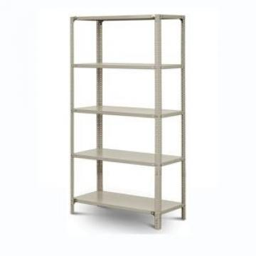 JIAMEI 5-Tier White Angle Rack Stack Steel Rack With Hole Inside Shelf