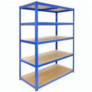 Metal Adjustable Medium Duty Warehouse Storage Shelving Rack For Industrial