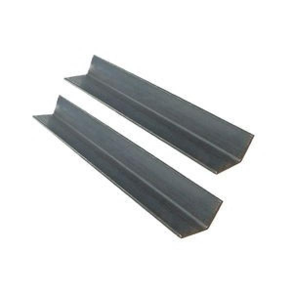 Cold Rolled Hot Dip Galvanized Perforated Black Powder Coated Steel Slotted Angle Bar Angle Iron Specification #1 image