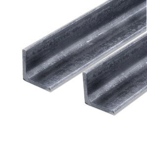 Best Price Punched Holes 35*35mm Equal Galvanized Slotted Angle Steel Bars For Storage Shelf #2 image