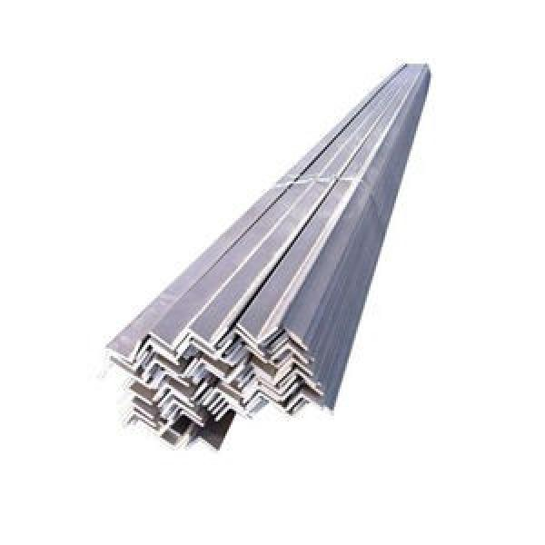 Best Price Punched Holes 35*35mm Equal Galvanized Slotted Angle Steel Bars For Storage Shelf #1 image