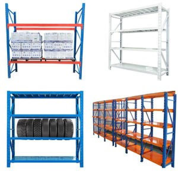 5 Tier Extra Wide Racking Garage Shelving Heavy Duty Industrial Steel & MDF Boltless Shelves or Workbench #2 image