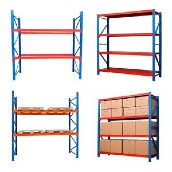 High capacity pallet racking system for warehouse solutions 4 layers adjustable warehouse garage rack #2 image
