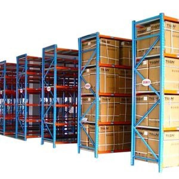 High capacity pallet racking system for warehouse solutions 4 layers adjustable warehouse garage rack #3 image