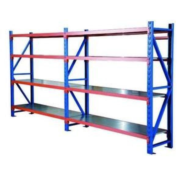 Commercial Boltless Bolt free 4 Tier Warehouse Heavy Duty Metal Shelving Unit #3 image