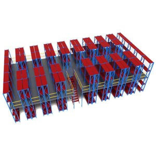 Steel multitier rack for warehouse space saving solutions #1 image