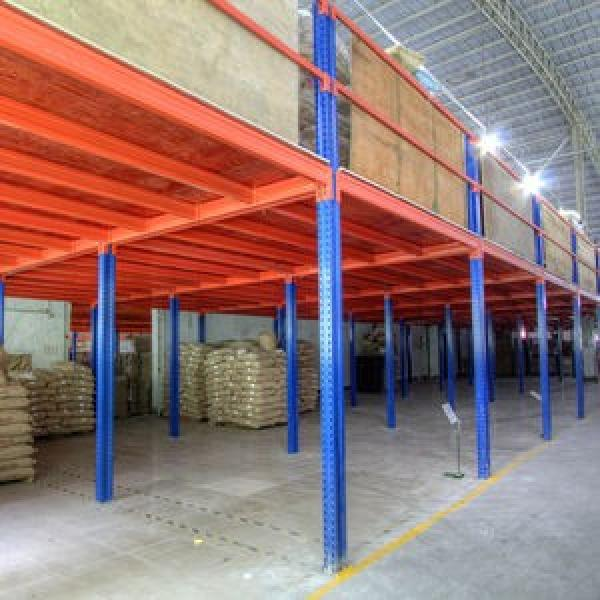 High capacity pallet racking system for warehouse solutions 4 layers adjustable warehouse garage rack #1 image