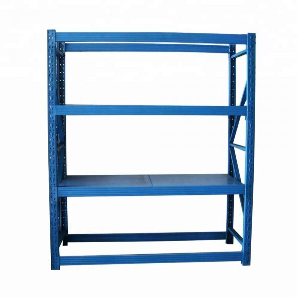 Heavy Duty Power Coated Warehouse Pallet Adjustable Metal Storage Rack Longspan Display Steel Shelving #1 image