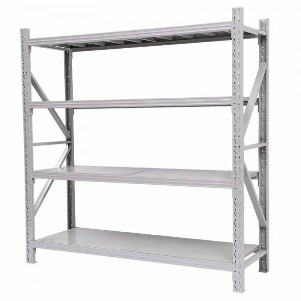 Heavy Duty Power Coated Warehouse Pallet Adjustable Metal Storage Rack Longspan Display Steel Shelving #3 image