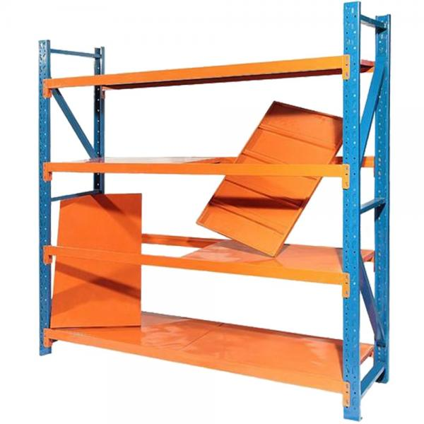 Heavy Duty Power Coated Warehouse Pallet Adjustable Metal Storage Rack Longspan Display Steel Shelving #2 image